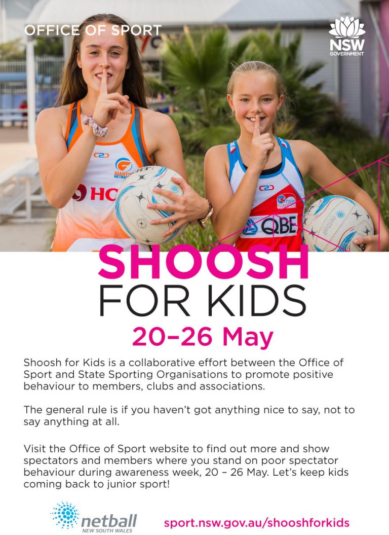 Shoosh for Kids – Saturday 25th April
