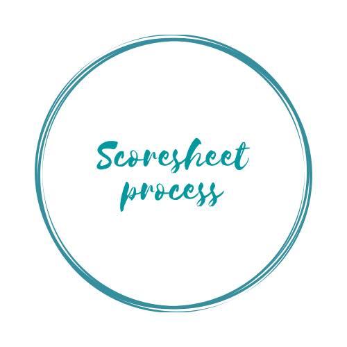 Scoresheet Process