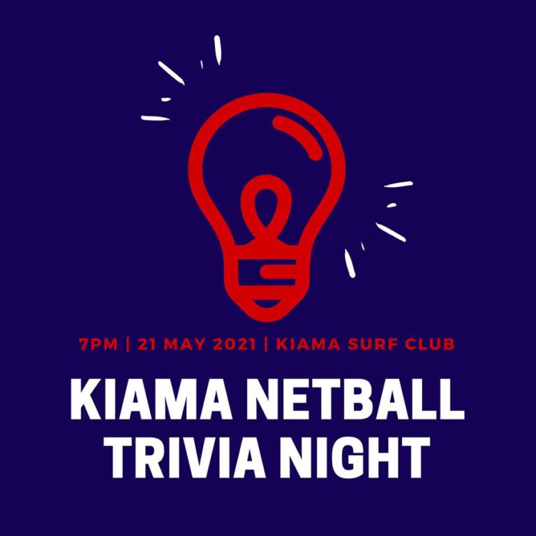 Kiama Netball Trivia Night